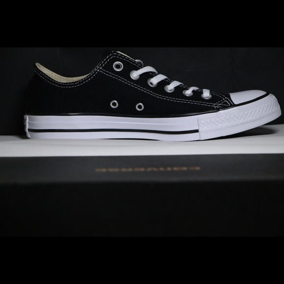 Converse Classic Black All Star Low Tops NWT